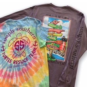 Simply Southern | Delaware T-shirt Bundle Medium